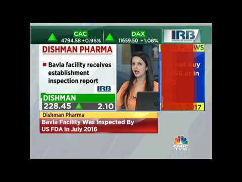 Dishman Pharma Receives EIR For Its Bavla Facility