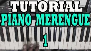 Piano Merengue Tumbao 1