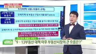9.13 부동산 대책 이후 부동산시장의 큰 흐름은?! - 한정훈소장 부동산강의
