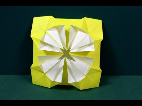 クリスマス 折り紙 折り紙 菊 : youtube.com