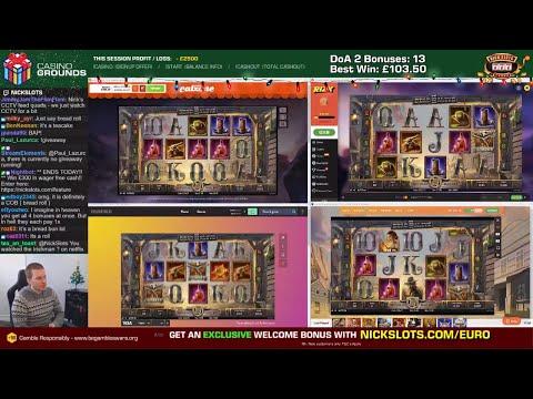 Casino Slots Live - 09/12/19 HD *QUADS!*
