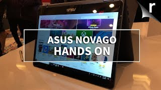 Hands-on Asus NovaGo Review: Flexible laptop with Snapdragon smarts