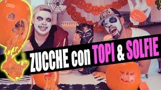 Facciamo ZUCCHE di Halloween con TOPI BLACK PANTHER
