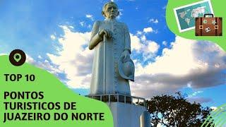 10 pontos turisticos mais visitados de Juazeiro do Norte