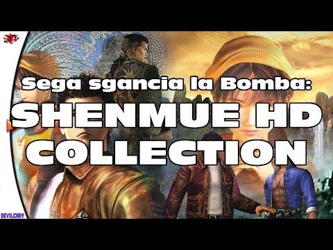"""E' successo il Miracolo... Shenmue HD Collection (Con """"Canale 36"""")."""