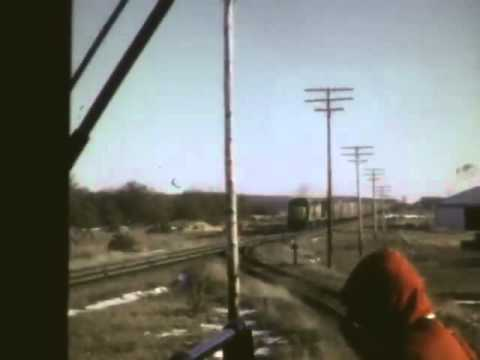 Adams Yard on C&NW 1971 and Way Freight ride