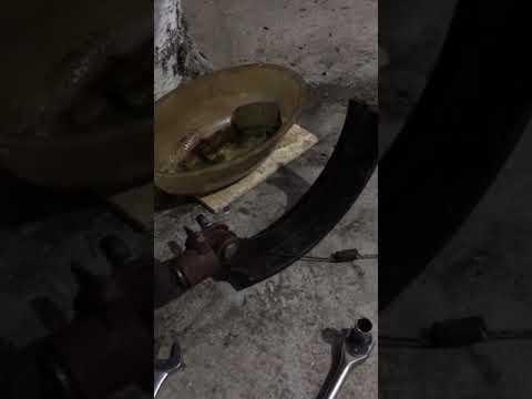 Установка передних дисковых тормозов на УАЗ - YouTube