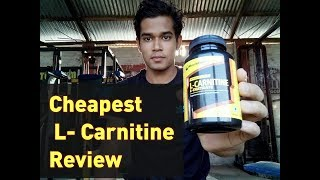 Muscleblaze L-Carnitine L-Tartrate Review | India's No1 FAT Burner MuscleBlaze L- Carnitine