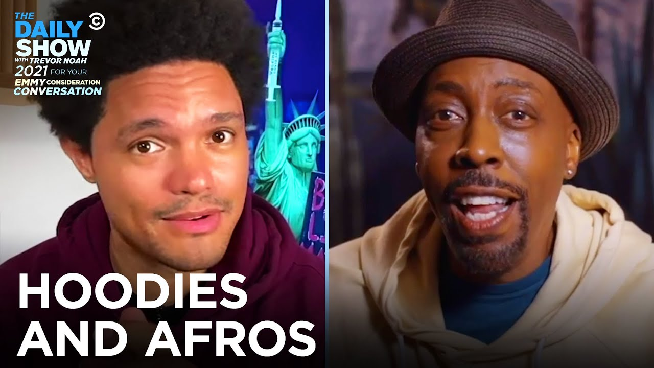 Hoodies and Afros - Trevor & Arsenio Hall FYC Chat | The Daily Show