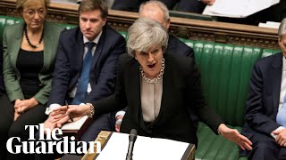 May updates Parliament on Brexit negotiations after EU summit - watch live thumbnail