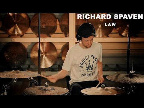 "Meinl artist Richard Spaven performing ""LAW"" - filmed at the Meinl Cymbals Factory"
