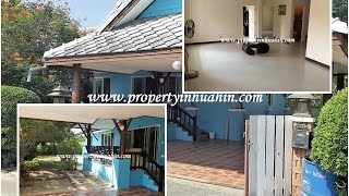 Property for sale/rent in Hua Hin Thailand