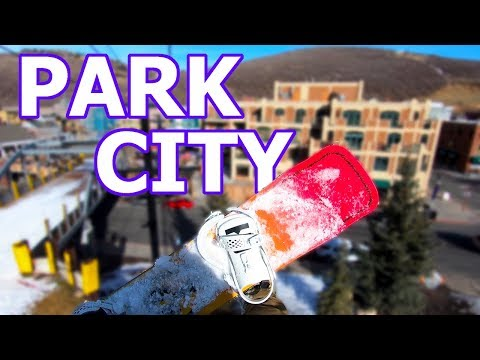 Checking Out Park City Utah - Jan. 18, 2018