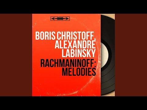 15 Songs, Op. 26: No. 6, Khristos voskres