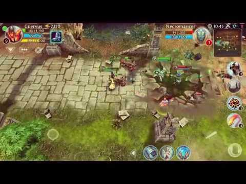 heroes of order and chaos dota2 mobile game youtube