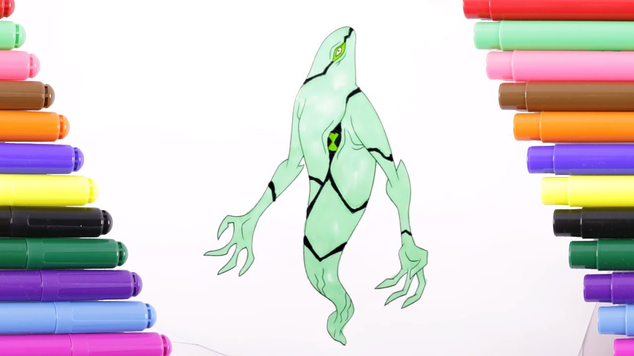 XLR8 From Ben 10 Omniverse Coloring Page - Download & Print Online ... | 720x1280