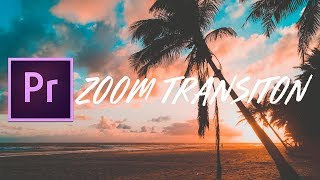 FREE Sam Kolder Smooth ZOOM Transition | Adobe Premiere Pro CC