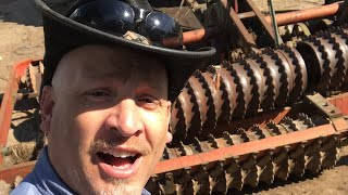 Roller Harrow Repair