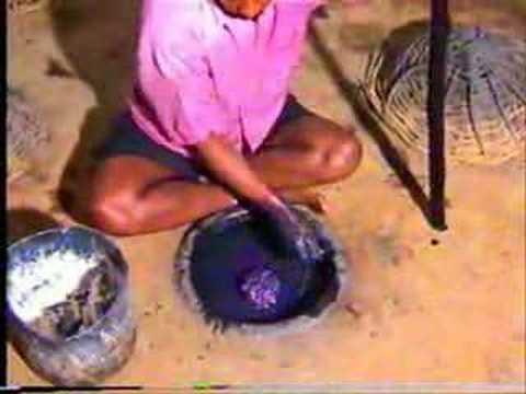 Natural Indigo Dye Fermentation Process