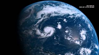 Planet Earth Time Lapse [24-hour] 2015-07-12 (4K)