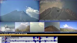 4/9/2019 - Mt Merapi TimeLapse