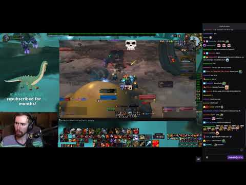 """Asmongold Watches """"Well, World of Warcraft Goodbye...Sort of"""" by Selwen"""