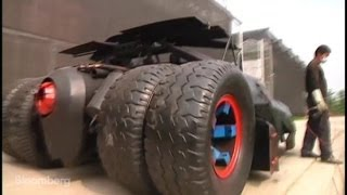 Real-Life Batmobile Found in Fantasy Junkyard