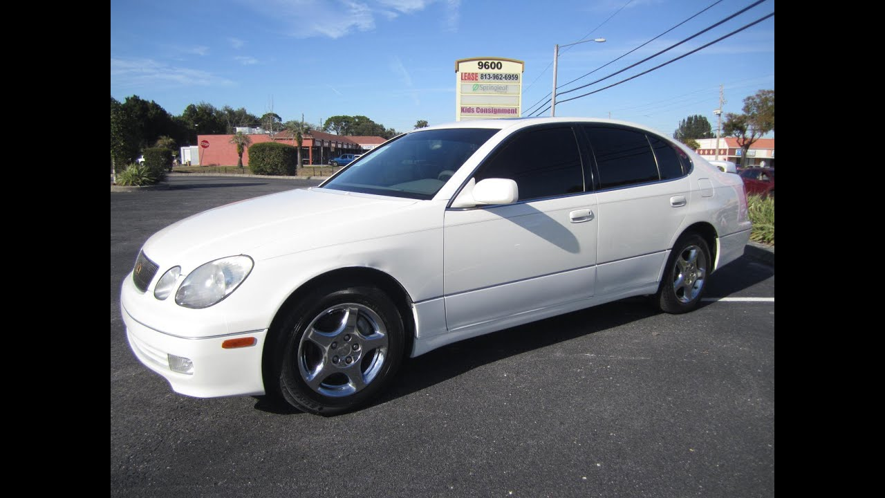 Sold 1999 lexus gs300 86k miles 2jz meticulous motors inc florida for sale