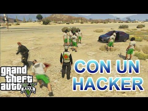 GTA 5 ONLINE | JUGANDO CON UN HACKER