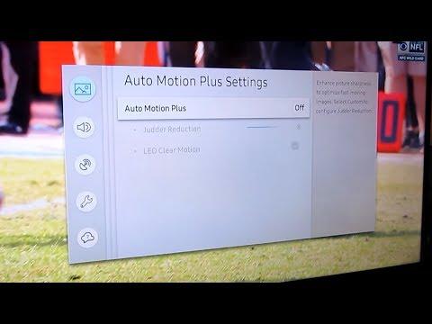 Samsung 4K MU6290 | Fast Motion Blur Problem | How to Fix | MU6300