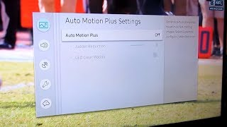 samsung 4K MU6300  Fast Motion Blur Problem  How to Disable Motion Plus Setting