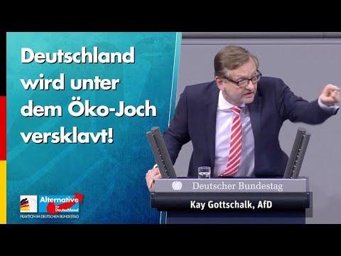 Deutschland wird unter dem Öko-Joch versklavt! - Kay Gottschalk - AfD-Fraktion im Bundestag
