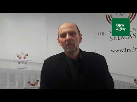 R.Braziulis apie medienos klasterio tikslus ir situaciją urėdijose 2018 02 27