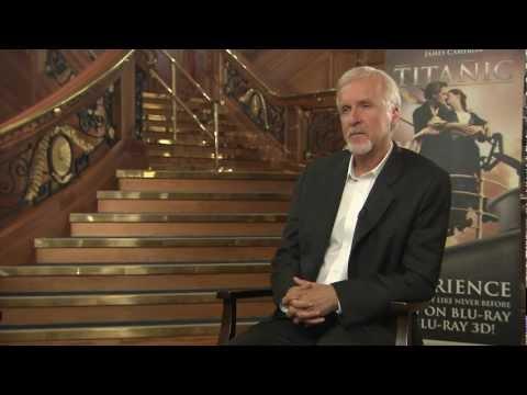 Titanic James Cameron visits the 'amazing' Titanic Belfast
