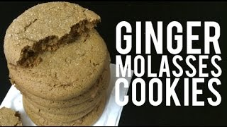 Tasty Tuesday: Ginger Molasses Cookies
