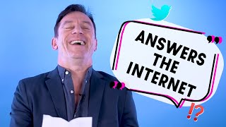 'We were having hours of sex on stage!'... Jason Isaacs answers the internet!