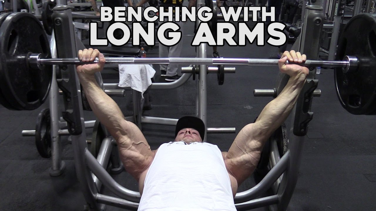 How to bench press with long arms for taller guys youtube