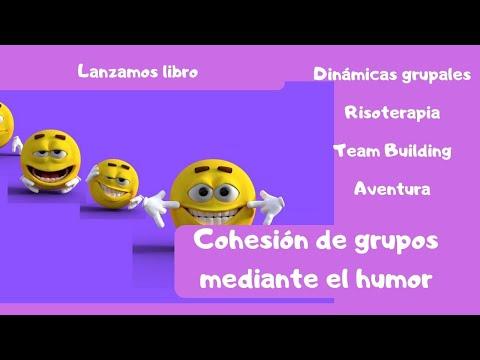 📕 Cohesión de grupos mediante el humor. #cohesión #grupos #humor