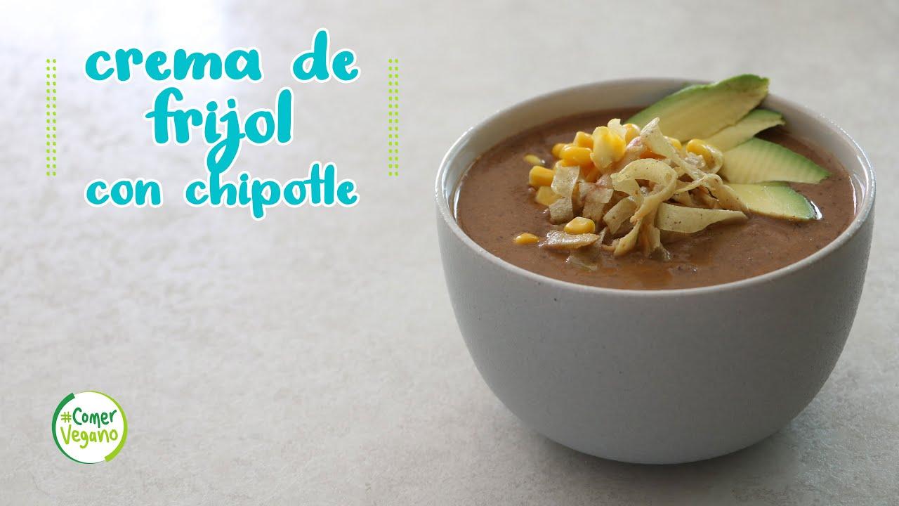 💪🏽 CREMA DE FRIJOL CON CHIPOTLE | Rica en hierro, proteína y grasas esenciales...