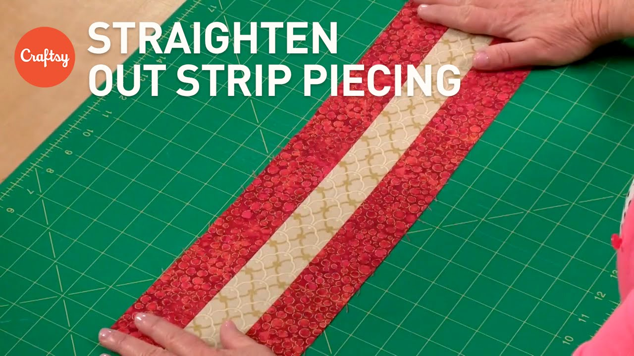 How to Cut Quilt Strips