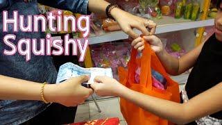 Jessica Hunting SQUISHY di TOYS BOX Duta Mall Banjarmasin 💖 Mainan Anak Squishy