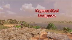 Assassin's Creed Papyrusrätsel Sackgasse