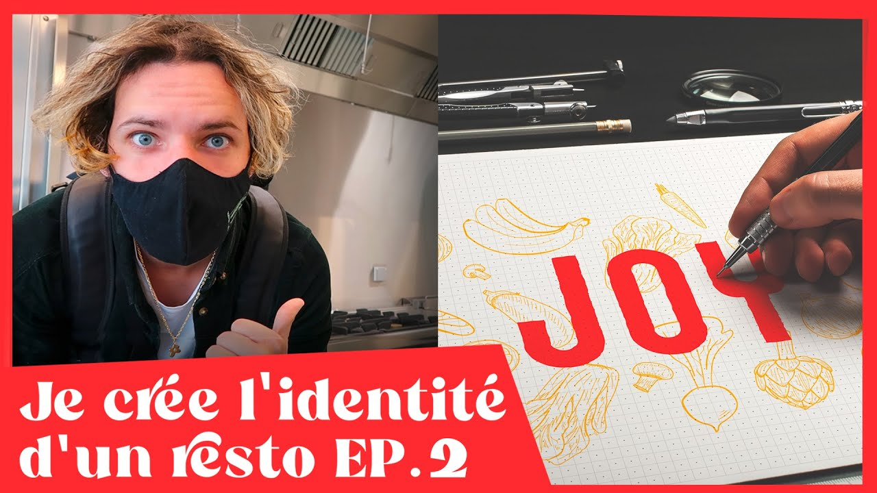 Je crée l'identité d'un resto EP2: L'ébauche