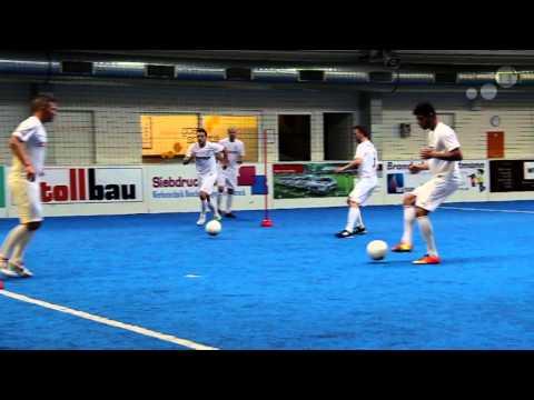 DFB Soccer One-Touch-Pass-Drill Like Joachim Löw