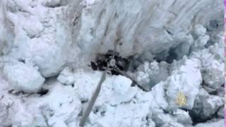فيديو.. مقتل 7 أشخاص بتحطم طائرة في نهر جليدي بنيوزيلندا