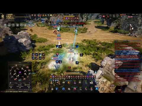 BDO 62 mystic red battlefield 3 times after 5/10 patch no cut  검은사막 미스틱 붉은전장 연속3판 (슈퍼아머 삭제패치)