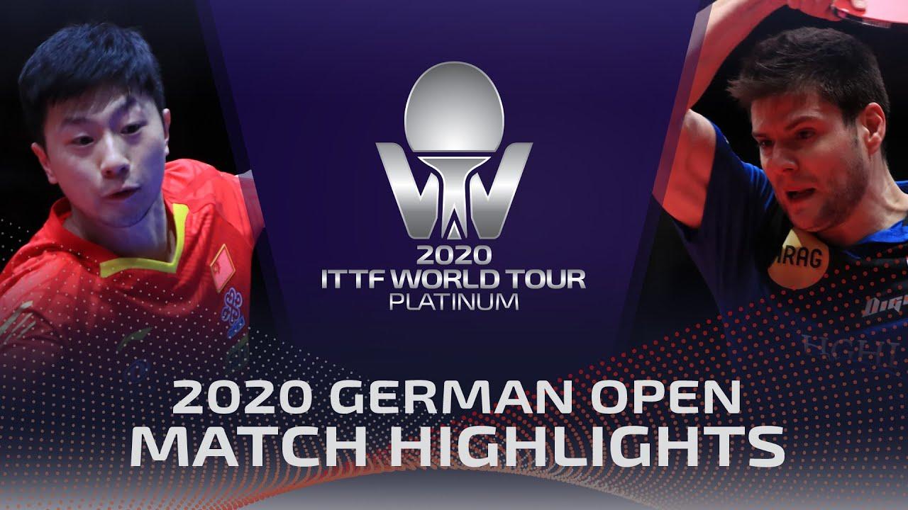 Download Ma Long vs Dimitrij Ovtcharov | 2020 ITTF German Open Highlights (1/2)
