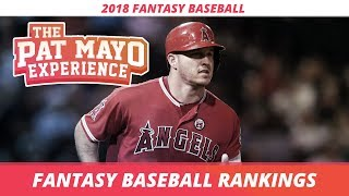 2018 Fantasy Baseball Rankings and ADP: Top 50 Overall Rankings, Sleepers and Strategy