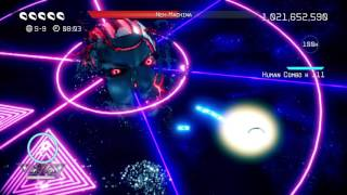 Nex Machina - Giant Face Boss Destroyed (SECRET BOSS)