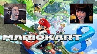 Mario Kart 8 Multiplayer -- FINALLY Karting in HD!
